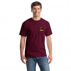UBRFC Tshirt maroon with Turtles logo