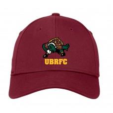 UBRFC Baseball cap maroon with Turtles logo
